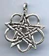 Celtic Star / Pentacle 1 1/8 inches across