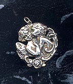 Cupid And Psyche Pendant Sterling