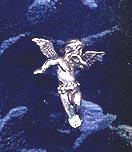 Angel Pendant Sterling