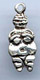 Small Willendorf Goddess 3/4 inch tall