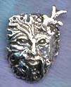 Green Man / Horned God 1 1/4 inches tall