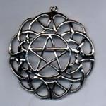 Large Celtic Pentacle 1 1/2 inch diameter