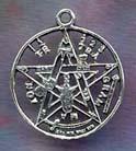 Tetragrammaton 1 1/8 inch diameter